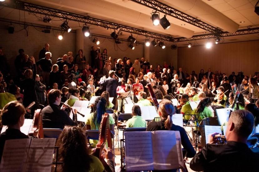 leerorkest brengt ode aan 50 jaar
